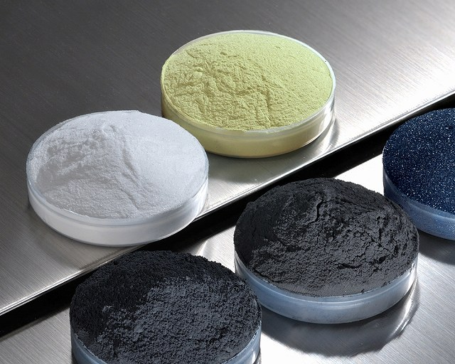 High melting point/hard material powder